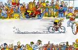 """CYCLISME  """" TOUR DE FRANCE 1984  / BANANIA  """" ETAPE N° 22  """" ILLUSTREE PAR GUERRIER  CPSM / CPM  10 X 15   TTBE - Illustrateurs & Photographes"""
