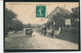 "COMBS LA VILLE - Bords De L'Yerres - "" Au Repos De La Côte "" (Restaurant) - Combs La Ville"