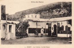 4658. CPA MAROC RABAT. LES OUDAÏAS. CAFE MAURE. - Rabat