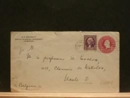 61/063   LETTRE TO BELGIUM  1933 - United States