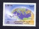 Libya 2014 - Stamp - Euromed - Libia