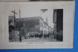 ALZONNE          -         RUE   DE  LA  MAIRIE         1913 - Sonstige Gemeinden