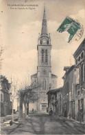 81-VILLEFRANCHE-D'ALBIGEOIS- VUE DE L'ENTREE DE L'EGLISE - Villefranche D'Albigeois