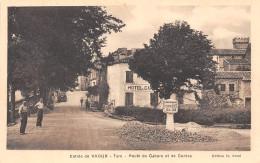 81-VAOUR- ROUTE DE CAHORS ET DE CORDES - Vaour