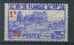 VEND BEAU TIMBRE DE TUNISIE N°226 , SURCHARGE A GAUCHE , NEUF !!!! - Unused Stamps