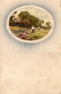 Postcard / CP / Postkaart / Farmers / Countryside / Campagne / Meissner & Buch / Leipzig / 1909 - Paysans