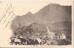 LA REUNION CILAOS SORTIE DE L´EGLISE - La Réunion