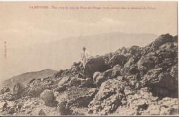 LA REUNION VUE PRISE DU HAUT DU PITON DES NEIGES DANS LA DIRECTION DU VOLCAN - La Réunion