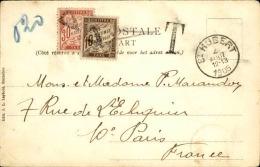 FRANCE – Lettre Ou Carte Taxée – Détaillons Collection – Bien Regarder – A Voir – Lot N° 18264 - Grande-Bretagne (ex-colonies & Protectorats)