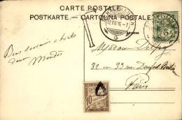 FRANCE – Lettre Ou Carte Taxée – Détaillons Collection – Bien Regarder – A Voir – Lot N° 18268 - Groot-Brittannië (oude Kolonies En Protectoraten)