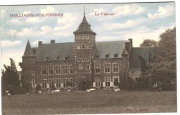 Hollogne-aux-Pierres - Le Château - Couleur - 2 Scans - Grâce-Hollogne