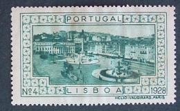 1928 - Lisboa - Nº 4 - L821 - Emisiones Locales
