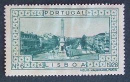 1928 - Lisboa - Nº 6 - L823 - Emisiones Locales