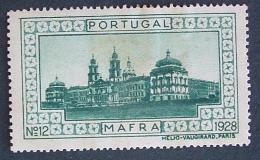 1928 - Mafra - Nº 12 - L829 - Emisiones Locales