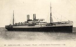 """99076 - St Nazaire (44) Le  Paquebot """" Flandre """" De La Compagnie  Generale Transatlantique - Saint Nazaire"""