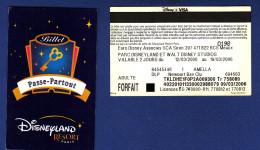 DISNEYLAND RESORT PARIS Passe-Partout, Valable 2 Jours, Visa, Amella DLP Newport Bay Club, Adulte - Frankrijk