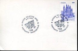 11660 Italia, Special Postmark 1997 Filetto, MS,  Mercato Medioevale,  Medieval Marks,  Marche Medieval - Storia
