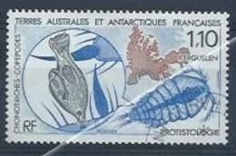 """T.A.A.F. : Y&T(o)  N° 148 """"La Prostitologie - Tierras Australes Y Antárticas Francesas (TAAF)"""