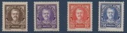 MONACO 1933  10ème Anniversaire De L'avenement Du Prince Louis II     N° YT 115-118  ** MNH - Neufs