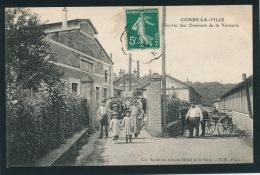 COMBS LA VILLE - Sortie Des Ouvriers De La Verrerie ( LALIQUE) - Combs La Ville