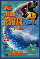 DISNEYLAND PARIS Lac Village, Wake & Beach Festival 3 Et 4 Juillet 2004 - Autocollant - Frankrijk