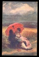 J. Manes: Krasne Leto / Postcard Circulated, 2 Scans - Künstlerkarten
