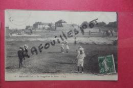 Cp Riva Bella Le Croquet Sur Les Dunes - Cricket