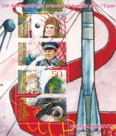 2011 Central African Stamp USSR Astronaut GAGARIN MS - Africa