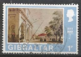 Gibraltar. 1971 Decimal Currency. 1p Used. (Old). SG 257 - Gibraltar