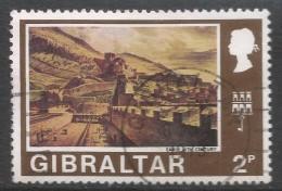 Gibraltar. 1971 Decimal Currency. 2p Used. (Old). SG 317 - Gibraltar