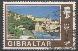 Gibraltar. 1971 Decimal Currency. 2p Used. (New). SG 318 - Gibraltar