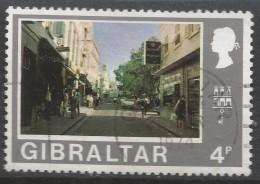 Gibraltar. 1971 Decimal Currency. 4p Used. (New). SG 320 - Gibraltar
