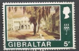 Gibraltar. 1971 Decimal Currency. 5p Used. (Old). SG 269 - Gibraltar