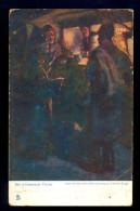 Ein Warmender Trunk / Raphael Tuck&Si+ona 'Oilette' / Long Line Postcard Circulated, 2 Scans - Künstlerkarten