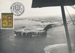D24457 CARTE MAXIMUM CARD 1960 PORTUGAL - ROCKS COASTLINE MAP SAGRES ST. VINCENTE CP ORIGINAL - Sin Clasificación