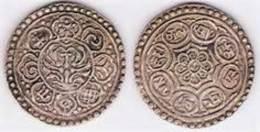 TIBET 1 TANGKA 1920 - Monedas