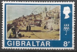 Gibraltar. 1971 Decimal Currency. 8p Used. (Old). SG 273 - Gibraltar