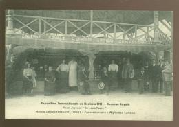France  : Exposition Internationale Roubaix 1911 - Caverne Royale - Maison Grimonprez - Delcourt - A. Laridan - Roubaix