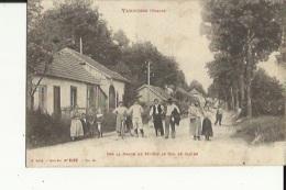 Vanifosse  88   Sur La Route De Saint-Dié Au Col De Saales-Route Tres Tres Animée - Other Municipalities