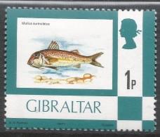 Gibraltar. 1977 Birds, Flowers, Fish And Butterflies. 1p MH. SG 375 - Gibraltar