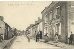 St AUBIN.  Centre De La Grande Rue. - Zonder Classificatie