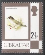 Gibraltar. 1977 Birds, Flowers, Fish And Butterflies. 2½p MH. SG 377 - Gibraltar