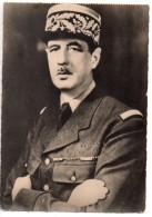 CPA.Célébrités.Militaire.Homme Politique.Général De Gaulle.carte De 14,8 Cm X 10,5 Cm. - Hommes Politiques & Militaires