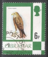 Gibraltar. 1977 Birds, Flowers, Fish And Butterflies. 6p Used. SG 381 - Gibraltar