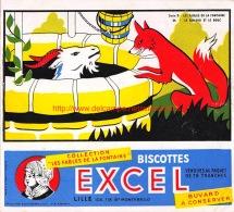 Biscottes Excel. Fables De La Fontaine - Sucreries & Gâteaux