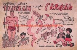 Tarzan Et L'intrépide. Babinet. Arthur Et Zoé - Blotters
