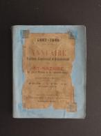 ANNUAIRE MARITIME COMMERCIAL ET ADMINISTRATIF DE ST NAZAIRE (44) 1887/1888 - Vieux Papiers