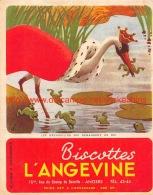 Biscottes L'Angevine Angers. Les Grenouilles Qui Demandent Unn Roi - Musique