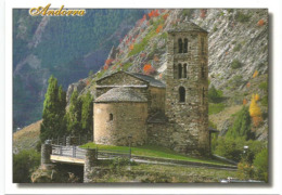 Chapelle Romane Saint Jean De Caselles, Carte Postale Neuve Non Circulée - Andorra