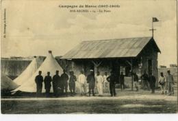 Campagne Du Maroc 1907-1908 Ber-Rechid La Poste - Marokko